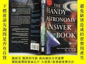 二手書博民逛書店The罕見Handy Astronomy Answer Book