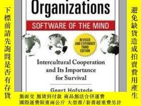 二手書博民逛書店Cultures罕見and Organizations: Sof