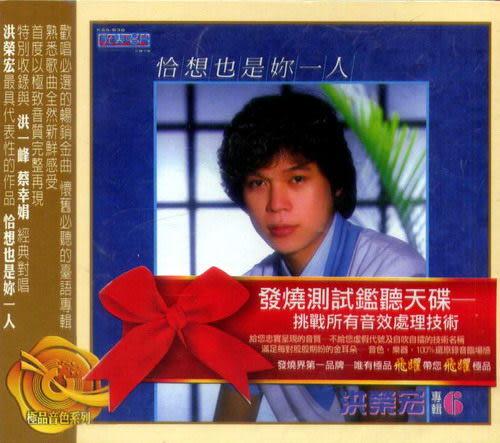 洪榮宏 恰想也是你一人 阿宏的心聲 CD (音樂影片購)