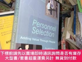 二手書博民逛書店Personnel罕見Selection: Adding Value Through PeopleY18793
