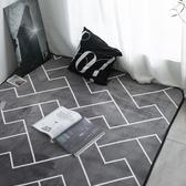 北歐地毯 臥室客廳地墊 榻榻米地墊 滿鋪可愛網紅同款床邊毯家用 快速出貨