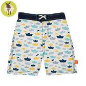 德國Lassig-嬰幼兒抗UV海灘尿布褲-小風船