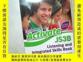 二手書博民逛書店LONGMAN罕見ACTIVATE JS3B 朗文啟動JS3B 大16開 (10)Y261116