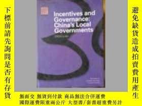 二手書博民逛書店Incentives罕見and Governance: Chin