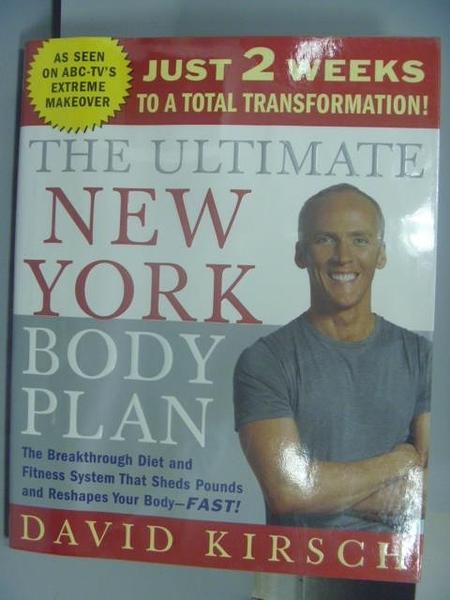 【書寶二手書T6/體育_QFK】The Ultimate New York Body Plan