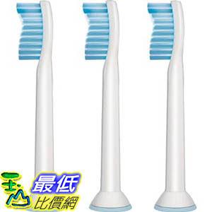 [預購促銷 隔月8日寄出] Philips HX6053/64 超軟牙刷 Sonicare Standard Ultra Soft Sensitive 3 Brush Heads $1287