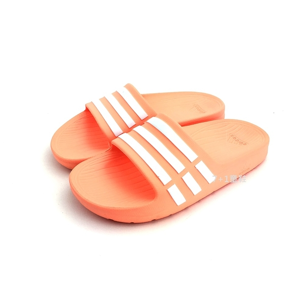 ADIDAS DURAMO SLIDE 超輕量防水運動拖鞋《7+1童鞋》7230 橘色