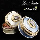 ~La Finia ~ 彩繪珍珠玫瑰園珠寶盒二色 擇