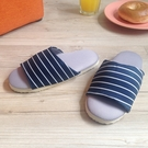 台灣製造-療癒系-舒活兒童室內拖鞋-深藍...