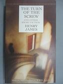 【書寶二手書T8/原文小說_BRB】Turn of the Screw and Other Short Fiction_James, Henry