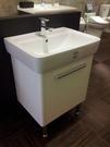 【麗室衛浴】德國GEBERIT PLAN系列 65CM盆 225165 +防水浴櫃