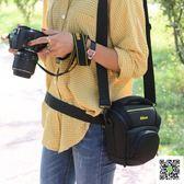 尼康相機包單反單肩攝影包D810D5100D5500D5600D3400D800D750便攜  玫瑰女孩