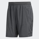 ADIDAS AEROREADY 男裝 短褲 慢跑 訓練 健身 吸濕 排汗 透氣 拉鍊口袋 網布 拼接 灰【運動世界】FP7846