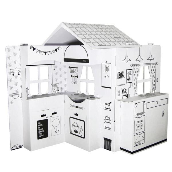 韓國 ANBOX 趣玩紙屋 廚房我做煮