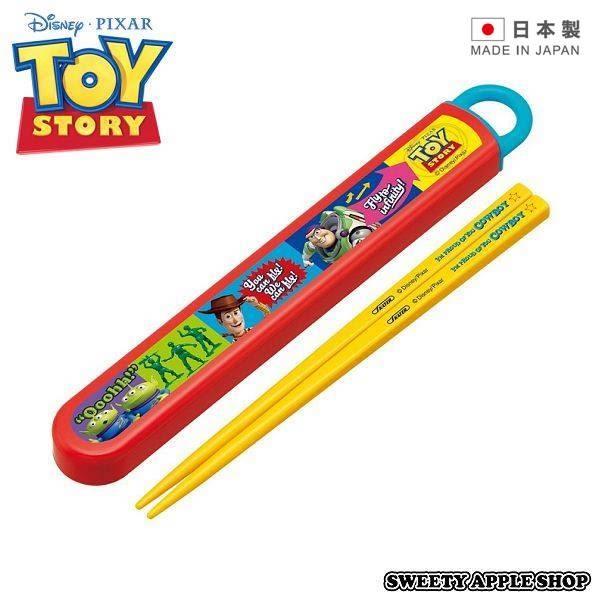 日本限定 日本製 玩具總動員 餐筷收納組