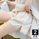 蕾絲安全褲防走光女夏薄款可內外穿寬鬆不卷邊冰絲防爆光打底短褲