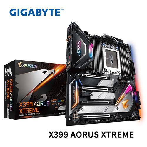 GIGABYTE 技嘉 X399 AORUS XTREME AMD TR4 腳位 主機板