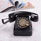 歐式仿古老式電話機  家用座機 復古電話機 按鍵款【藍星居家】