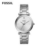 FOSSIL CARBON 不鏽鋼女錶 35mm ES4440