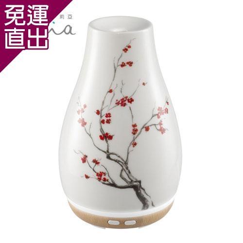 美國 ELLIA 伊莉亞 典雅陶瓷香氛水氧機 ARM-510(綻放)◤限量送精油禮盒◢【免運直出】