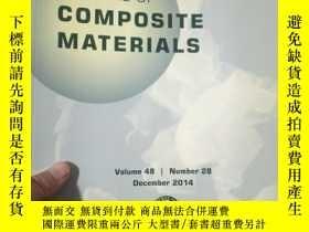 二手書博民逛書店Journal罕見of Composite MaterialsY