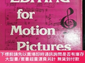 二手書博民逛書店(英文)music罕見editing for motion picturesY390555 milton lu