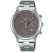 【人文行旅】Agnes b. | 法國簡約雅痞 FBRD967 太陽能時尚腕錶 40mm