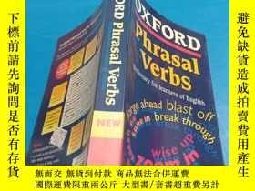 二手書博民逛書店Oxford罕見Phrasal Verbs Dictionary
