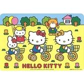 日本製 Hello Kitty 餐桌墊 隔熱墊 防燙墊 防滑墊 4枚入-超級BABY