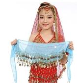 跳舞百搭金色貼身配飾印度舞蹈腰鍊腰帶 全館免運