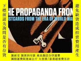 二手書博民逛書店The罕見Propaganda Front: Postcards
