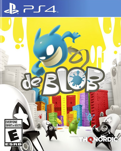 PS4 彩虹塗鴉軍團 1(著色精靈:七彩希望)(美版代購)