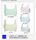 [多件優惠] 11-14歲發育期背心款無背扣棉質素色女童內衣 下胸圍 65~75cms 可穿
