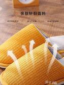 情侶棉拖鞋女日式居家室內厚底加絨保暖冬天防滑家用男士 道禾生活館