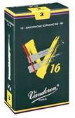 凱傑樂器 Vandoren V16 Alto Reeds SAX 深綠盒 中音竹片 2號