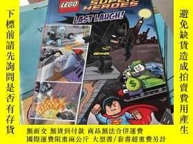 二手書博民逛書店Lego罕見Dc Super Heroes: Last Laug