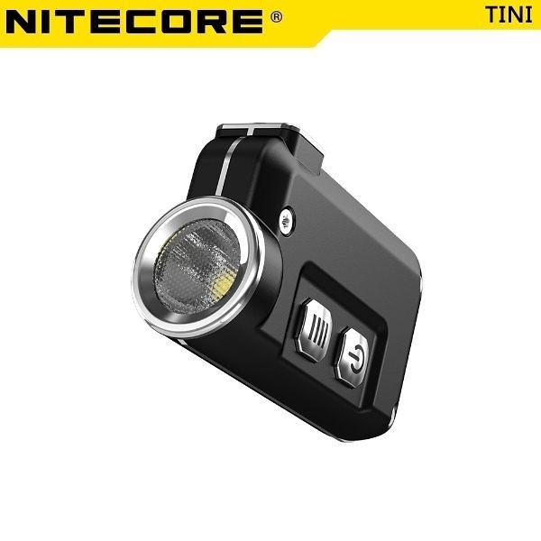 奈特柯爾 Nitecore TINI 迷你金屬LED鑰匙燈 續航60小時 380流明【 黑/灰兩色】