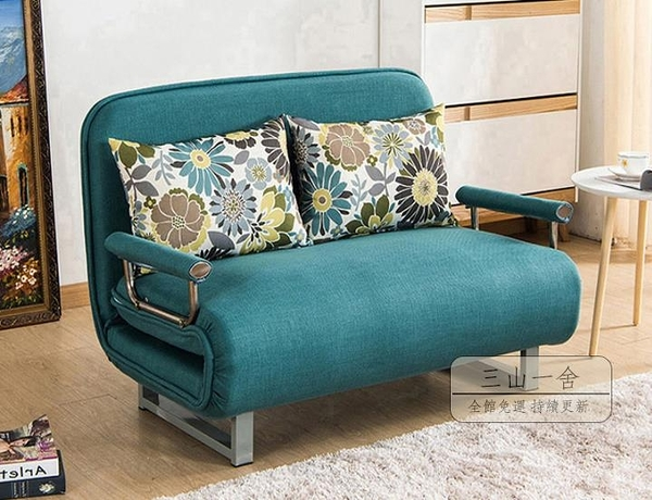 沙發床 折疊沙發床兩用可拆洗客廳多功能小戶型雙人單人1.2米1.5米經濟型-限時八折購JY