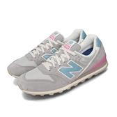 New Balance 休閒鞋 NB 996 灰 藍 女鞋 運動鞋 【ACS】 WL996COLB