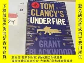 二手書博民逛書店英文原版:Tom罕見clancy's under fire 書口