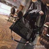 輕便簡約短途旅行包女斜挎旅行袋男防水大容量手提包行李袋健身包『小宅妮時尚』