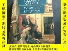 二手書博民逛書店ELIZABETH罕見GASKELL WIVES AND DAUGHTERS伊麗莎白·蓋斯凱爾的妻子和女兒Y3