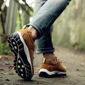 外登山鞋男鞋子戶2018秋季耐磨徒步鞋休閒透氣運動旅游鞋zh1214【雅居屋】