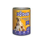 ★超值4件組★IQ Dog狗罐頭-牛肉風味+米400g【愛買】