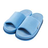 樂嫚妮 穴道按摩室內拖鞋-頭部-女款穴道拖鞋-女淺藍
