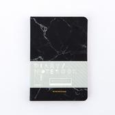 大理石紋通用手帳本-沉穩黑-生活工場