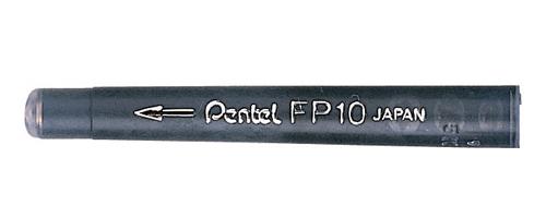 PENTEL 攜帶型卡式毛筆-筆芯 FP10