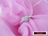 14K金 天然鑽石 經典設計- 愛心鑽石戒指 - 心型 結婚鑽戒 求婚鑽戒 情人節 送禮推薦
