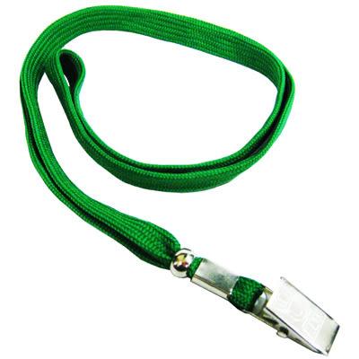 無印字識別證件吊式布帶/掛繩/識別帶 綠