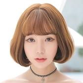 短假髮(整頂)-空氣瀏海鮑伯頭短直髮女假髮5色73rr18【巴黎精品】